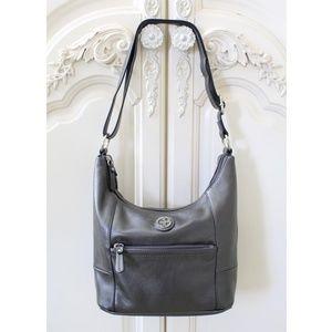 Giani Bernini Leather Hobo Bucket Handbag